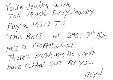 Floyd's Note Revised