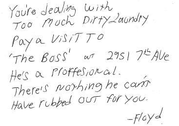 Floyd's Note Revised
