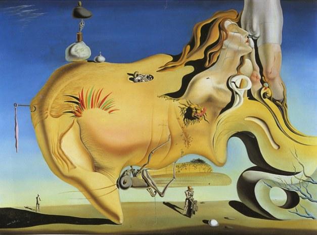picture of The Great Masturbator by Salvador Dali
