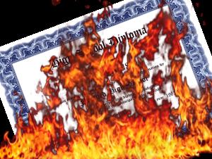burning-diploma